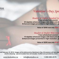 Valentine's Day Boudoir Special