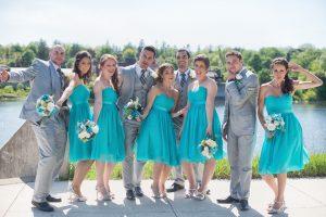 Bright Wedding Photography in Toronto